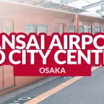 KANSAI AIRPORT TO OSAKA CITY CENTER