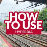 JAPAN TRAINS: How to Use Hyperdia