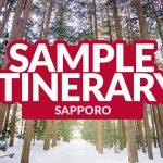 SAPPORO SAMPLE ITINERARY