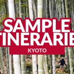 KYOTO SAMPLE ITINERARIES